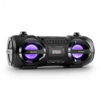 AUNA  Bluetooth CD MP3 USB FM LED Effect 25W RMS