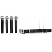 auna VHF       4 kanālu VHF bezvadu mikrofons,