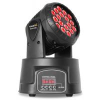 MHL108MK3 Mini Moving Head 18x 3W 3-in-1 RGB LEDs