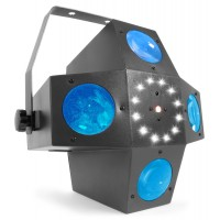 Multitrix LED with laser and strobe
