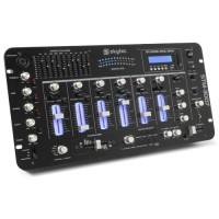 """SkyTec STM-3007 6-Channel Mixer SD/USB/MP3/LED/Bluetooth 19"""""""