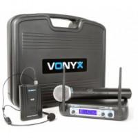 Vonyx WM512C 2-Channel VHF