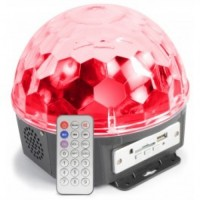 Max Magic Jelly DJ Ball 6x 1W LEDs SD/USB/MP3