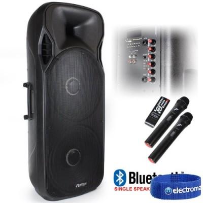 "Fenton FT215LED Active Speaker double 15"" 1600"